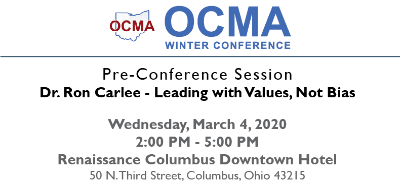 ocma 2020 winter conference logo pre-conference session image